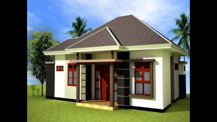 15 Desain Gambar Rumah Sederhana Di Desa Minimalis Dan Modern 15 Kontraktor Jogja