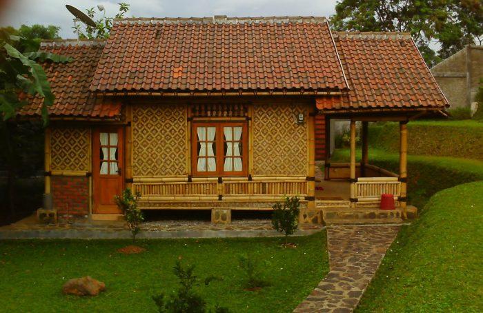 15 Desain Gambar Rumah Sederhana Di Desa Kontraktor Jogja