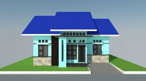 34 Gambar Rumah Minimalis Modern Terbaru Tipe 36 45 54 70