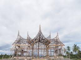 7 Rumah Adat Sumatera Barat Lengkap Gambar Dan Penjelasannya